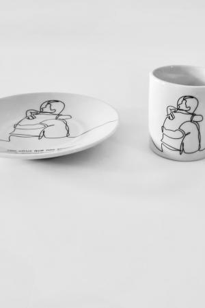 chávena de cafe ceramica